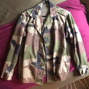 urban Outfitters Vintage Camo Jacket